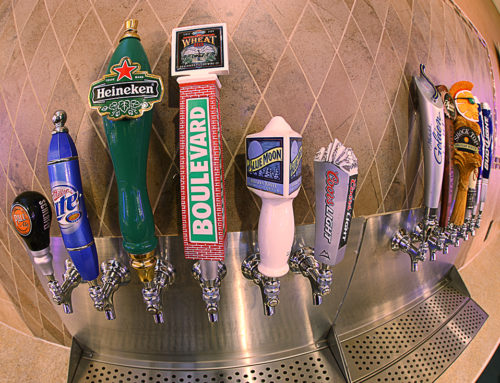 Over Ten Beers on Tap