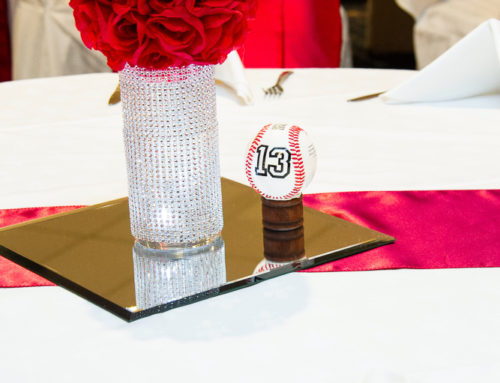 Cardinal Themed Wedding