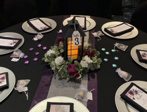 Customized Table Decor